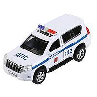 Машинка Toyota Land Cruiser Prado Полиция 12 см, Технопарк