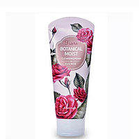 Пенка для умывания Welcos Botanical Moist Cleansing Foam Pure Rose 120g.