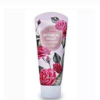 Пенка для умывания Welcos Botanical Moist Cleansing Foam Pure Rose 120g.
