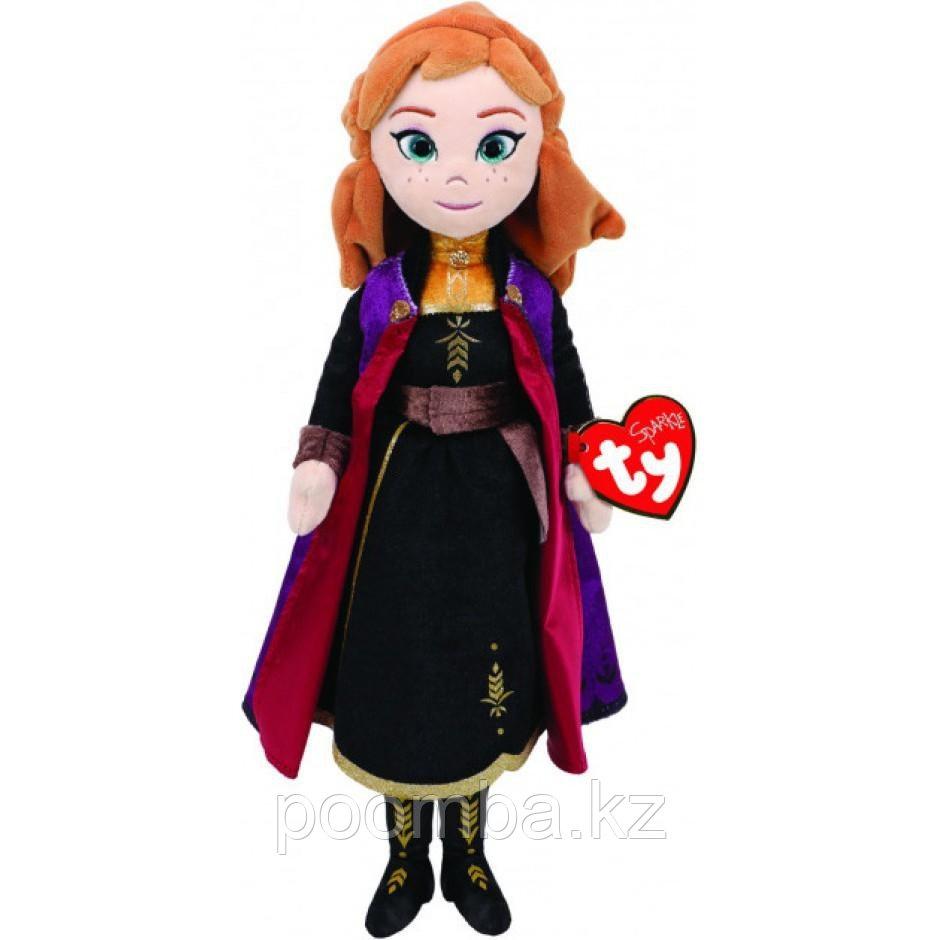 """Мягкая игрушка со звуком Анна принцесса """"Холодное Сердце 2"""" 30 см TY"""