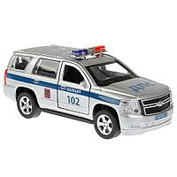 Машинка Chevrolet Tahoe Полиция 12 см, Технопарк