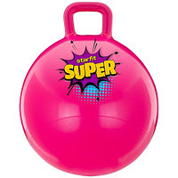 Мяч-попрыгун Starfit Super 45 см с ручкой GB-0401 pink