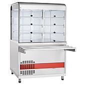 Прилавок-витрина холодильный ABAT «Аста» ПВВ(Н)-70КМ-С-НШ