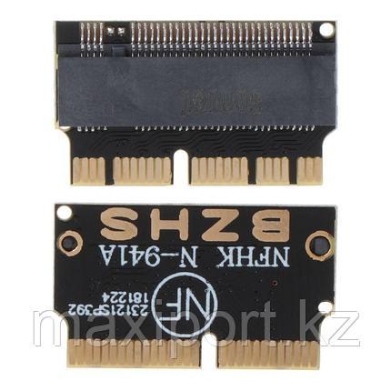 Адаптер NVME PCI express SSD N-941A M.2 NGFF для 2013 2014 2015 2016 MacBook A1398 A1502 A1465 A1466, фото 2