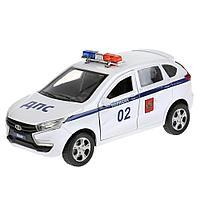 Машинка Lada X-Ray Полиция 12 см, Технопарк