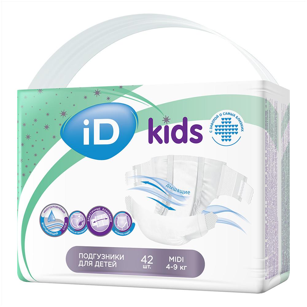 Детские подгузники ID KIDS