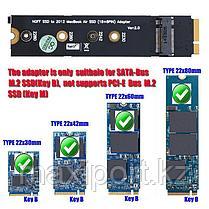 SSD NGFF м.2 для 18 + 8pin SSD адаптер для MacBook Air 2012 A1465 A1466, фото 3
