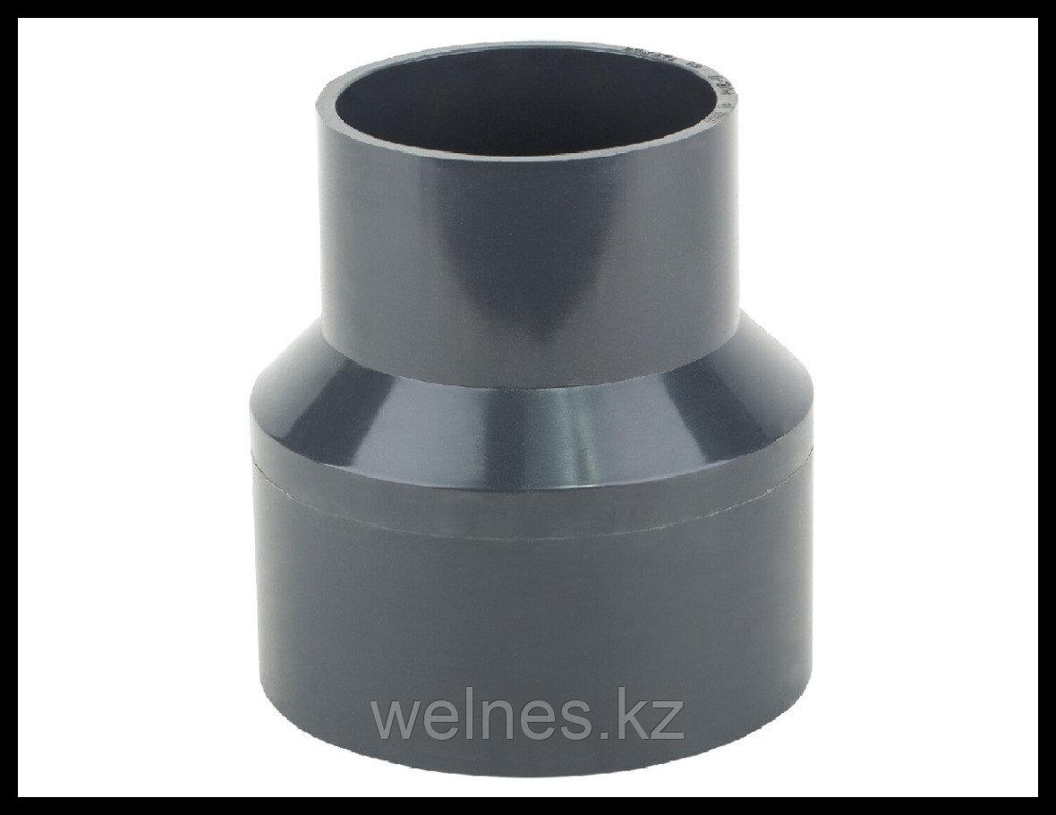 Переход муфтовый PVC, 90 х 40 мм