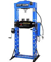 Пресс 30 тонн с ручным и пневматическим приводом KraftWell