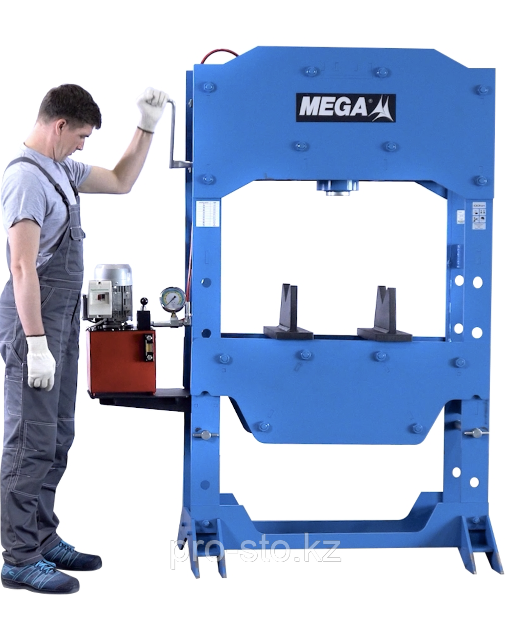 Пресс 100 тонн с электроприводом MEGA Испания - фото 3