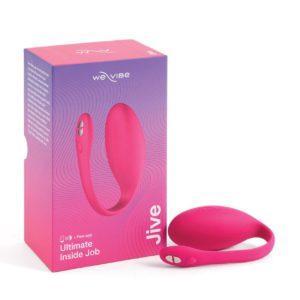 "Smart вибратор ""WE-VIBE Jive"", розовый"