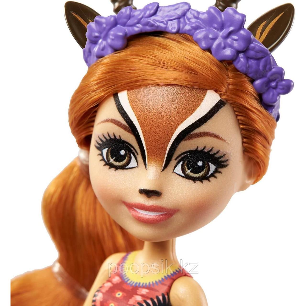 Кукла Enchantimals Газель Габриелла и питомец Рейсер - фото 4