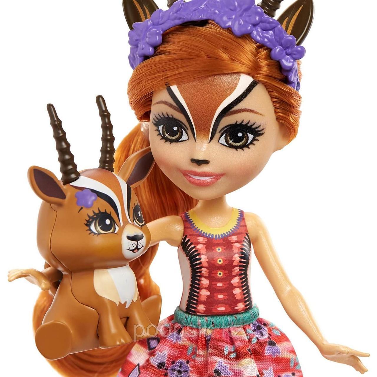 Кукла Enchantimals Газель Габриелла и питомец Рейсер - фото 3