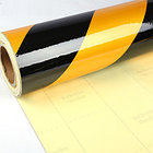 Лента световозвращающая черно-желтая 10 см, фото 7