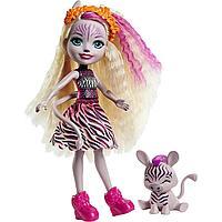 Кукла Enchantimals Зебра Зейди и её питомец Реф