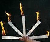 Один факел распадается на 5