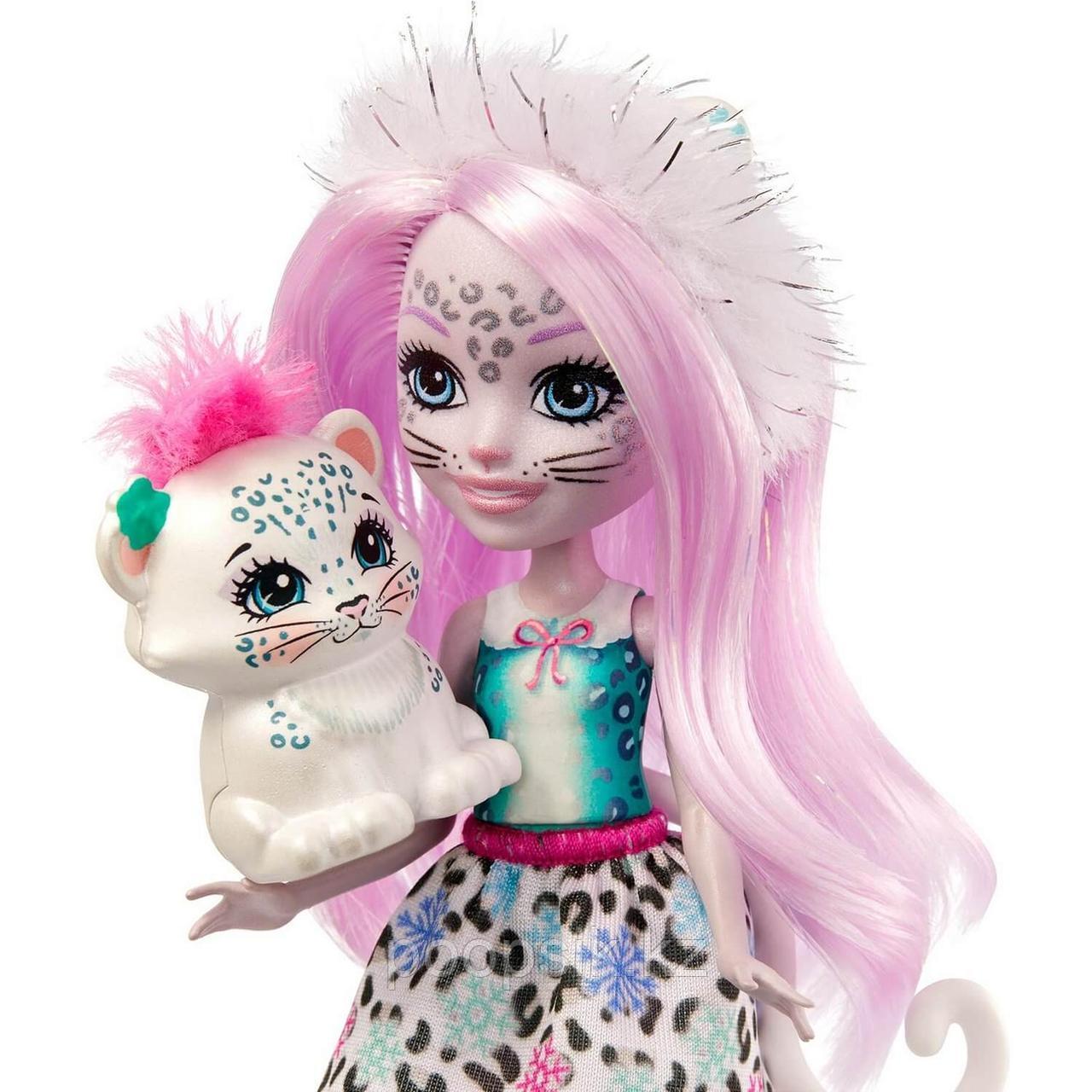 Кукла Enchantimals Снежная Леопарди Сибилла и Флейк - фото 3