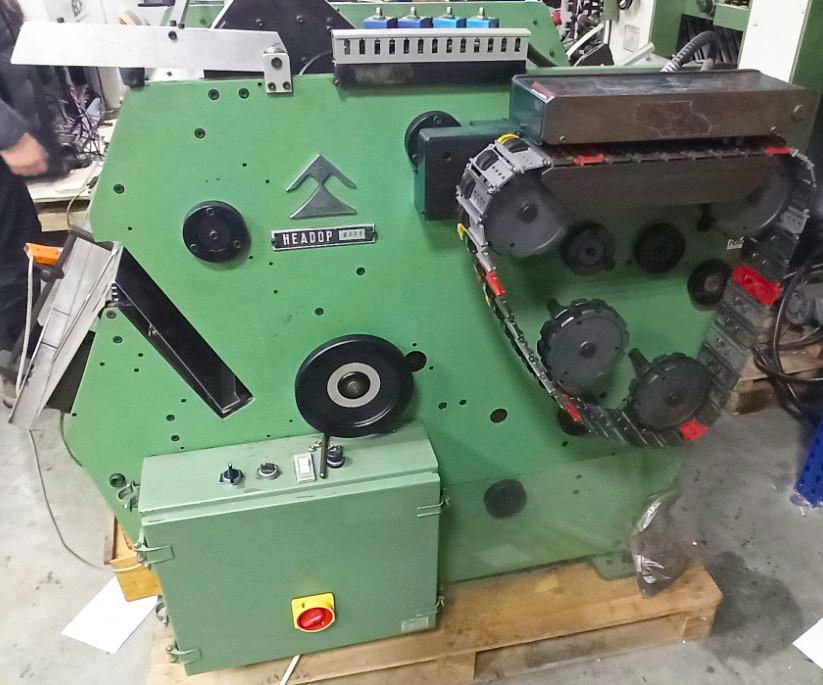 Автоматическая ниткошвейная машина SMYTH Freccia 14 HEADOP (Италия)