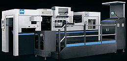 Автоматическая машина высечки и тиснения фольгой  D-MASTER 820T