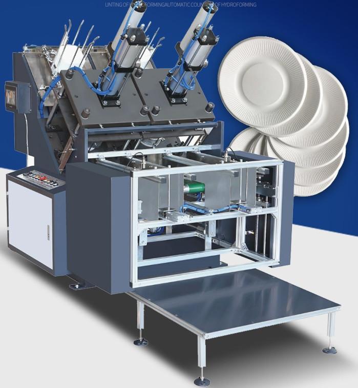 Автоматический формовщик бумажных тарелок PLATTER - 300