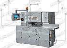 Трехножевая бумагорезальная машина  GUOWANG S28E c автоматической настройкой боковых ножей серводвигателями, фото 6