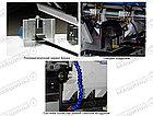 Трехножевая бумагорезальная машина  GUOWANG S28E c автоматической настройкой боковых ножей серводвигателями, фото 7