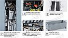 Трехножевая бумагорезальная машина  GUOWANG S28E c автоматической настройкой боковых ножей серводвигателями, фото 9