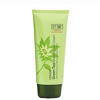 Солнцезащитный крем Cellio Green Tea Anti-Wrinkle Effect Sun Cream 70g.