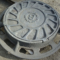Люк чугунный канализационный ПГ 600х850х60 GGG-50 тип C250