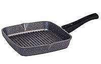Cковорода-гриль Мечта Granit Black 28 см. со съемной ручкой