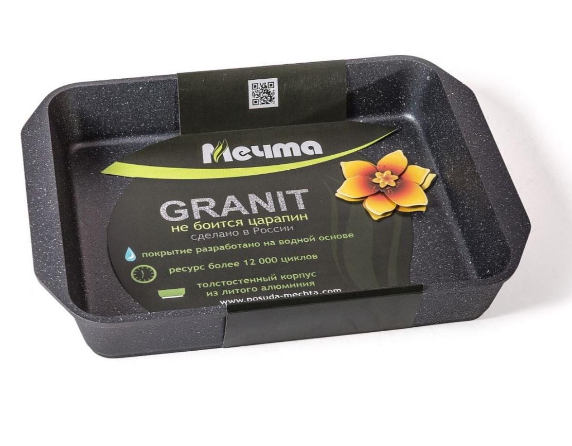 Противень Мечта Granit 22*33 см