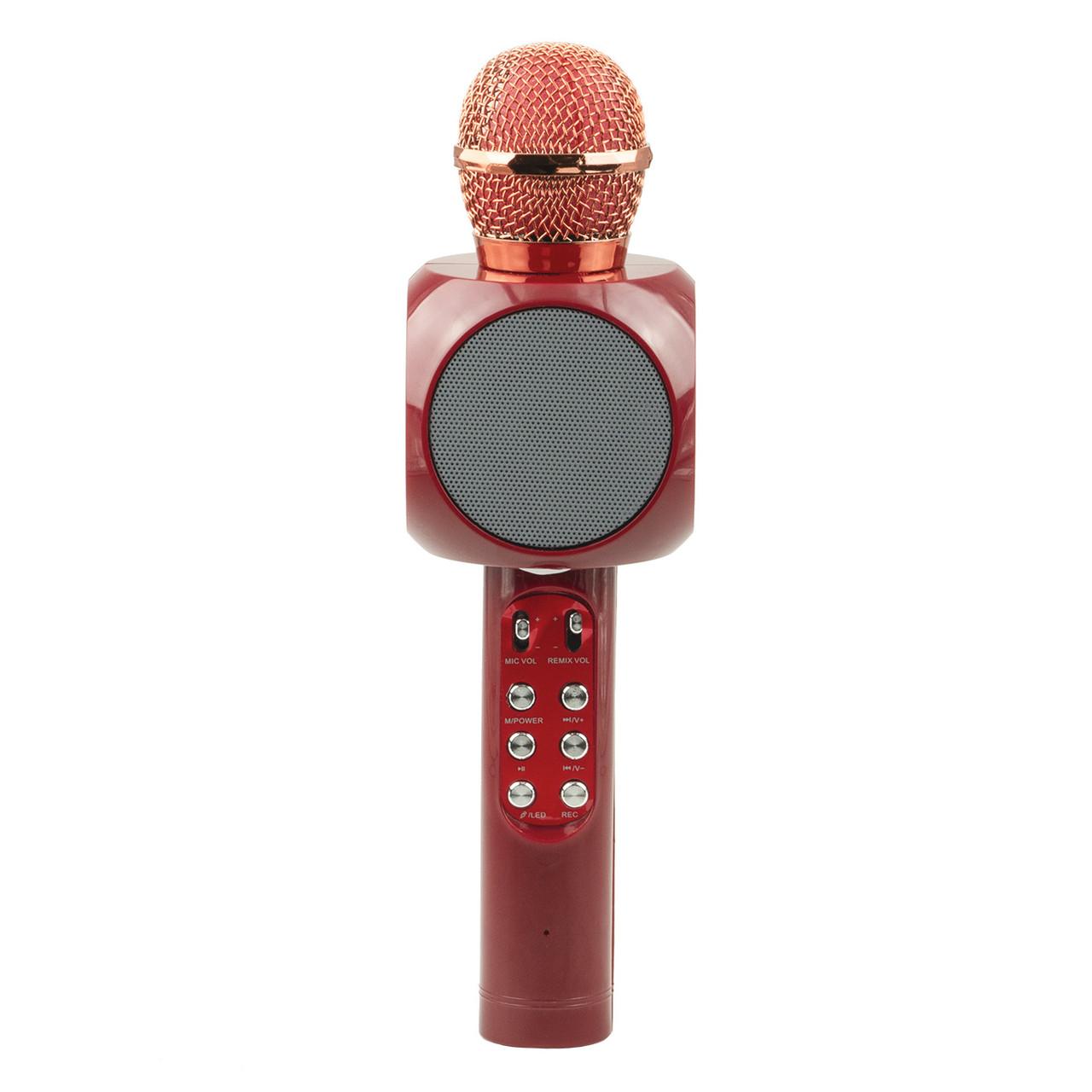 Микрофон-Колонка WS-1816, Red