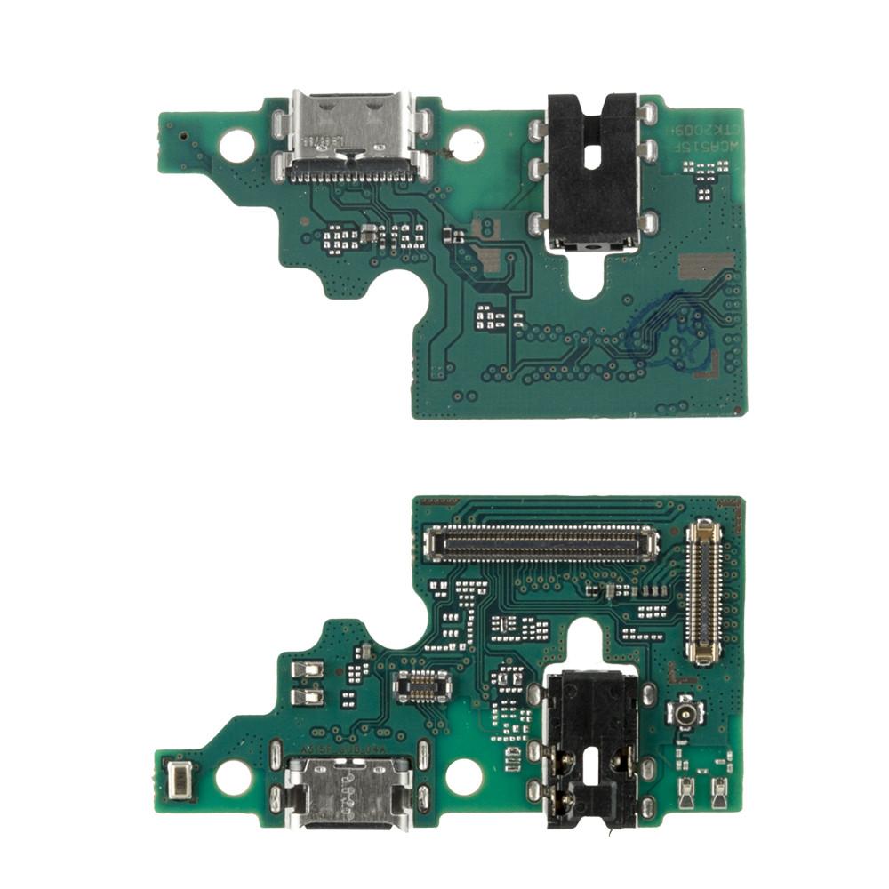 Нижняя плата Samsung Galaxy A51 A515 с коннектором заряда и гарнитуры Copy