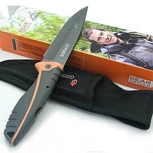 Нож складной Gerber Bear Grylls 133A Ultimate Copmact 31-000752 с чехлом (без серрейтора)