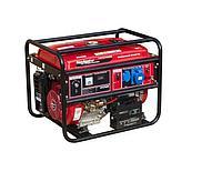 Генератор бензиновый NAVIGATOR NPG7000E с электростартером на колесах.