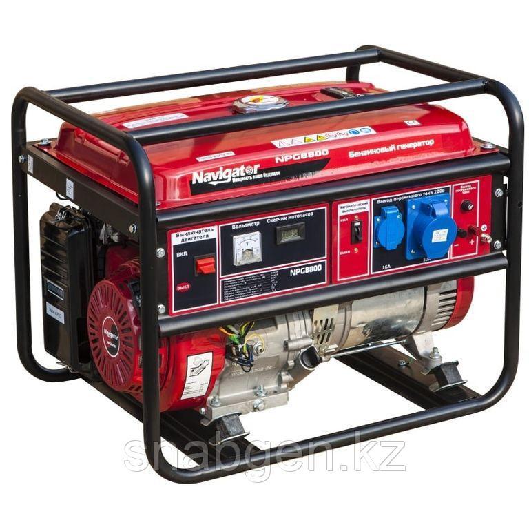 Генератор бензиновый NAVIGATOR NPG8800E