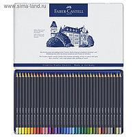 Карандаши художественные Faber-Castell 36 цветов, в металлической коробке