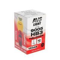 Лампа автомобильная AVS Vegas HB3/9005,12 В, 65 Вт