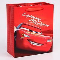 """Пакет ламинат вертикальный """"McQueen"""", Тачки, 23х27х11,5 см"""