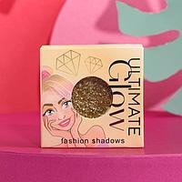 Мерцающие тени для век Ultimate glow, оттенок № 014, чистое золото