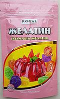 Желатин пищевой 100 гр, дойпак, Royal Food