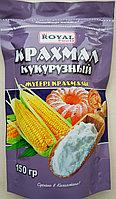 Крахмал кукурузный 150 гр, дойпак, Royal Food