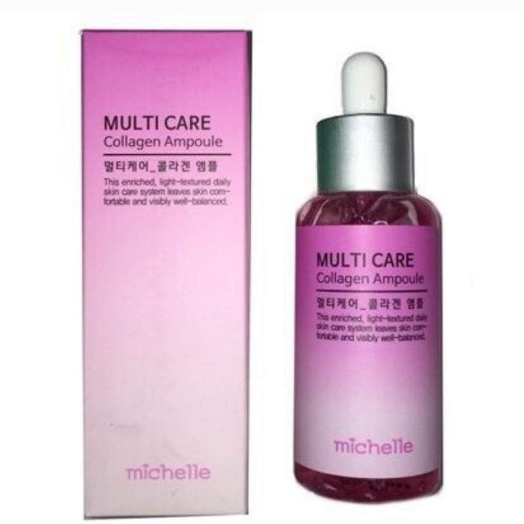 Сыворотка для лица MICHELLE Multi Care Ampoule 80 ml. (Collagen)