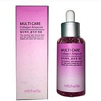 Сыворотка для лица MICHELLE Multi Care Ampoule 80 ml. (Collagen)