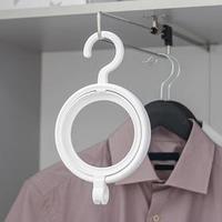 Крючок для одежды и головных уборов многофункциональный, 24x14x2,8 см, цвет белый