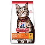 Hill's Adult для взрослых кошек, курица