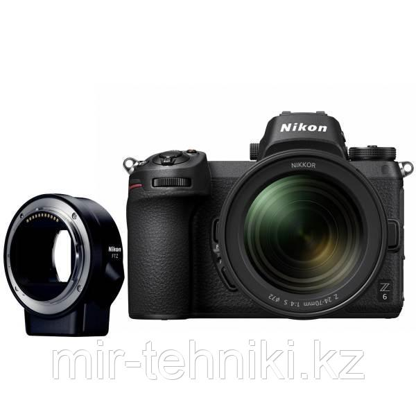 Фотоаппарат Nikon Z6 Kit Nikkor Z 24-70mm f/4 S +  FTZ Adapter Nikon