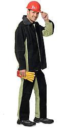 Костюм сварщика: куртка, брюки брезентовый со спилком (2,7 кв.м) тип Б
