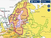 Navionics Plus 44XG Балтийское море на карте 8 Гб Артикул: 4635