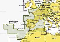 Navionics Plus 46XG Центральная и Западная Европа на карте 8 Гб Артикул: 4636